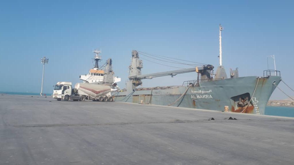 شرکت سیمان قشم - صادرات سیمان بخ مقصد کویت